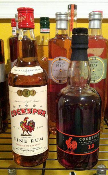 Cockspur_rum
