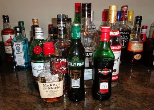 Liquorbottles