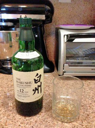 Hakushu japanese whisky