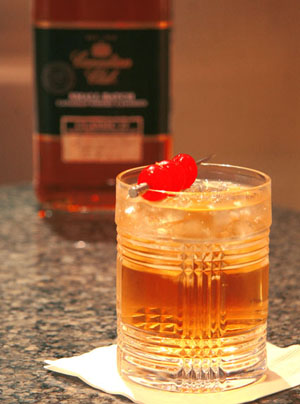 Canadian club classic highball